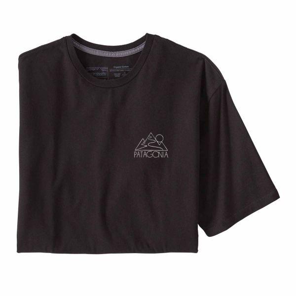 Patagonia Men's Z's and S's Organic T-Shirt Black