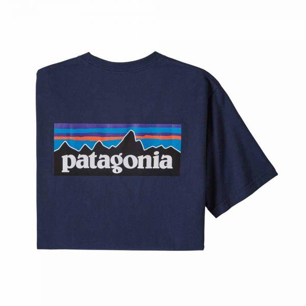Patagonia M's P-6 Logo Responsibili-Tee Herren T-Shirt Classic Navy
