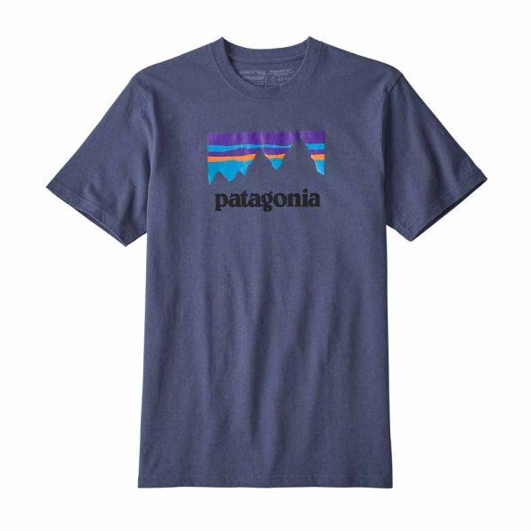 Patagonia M´s Shop Sticker Responsibili-Tee Männer T-Shirt Dolomite Blue