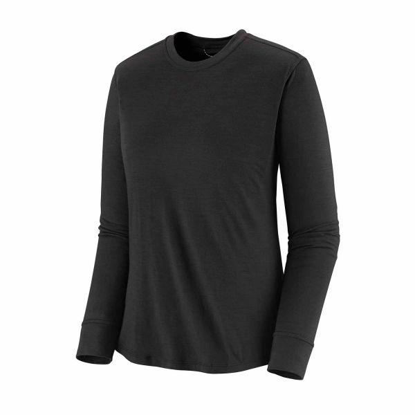 Patagonia Women's Long-Sleeved Capilene® Cool Merino Shirt Black
