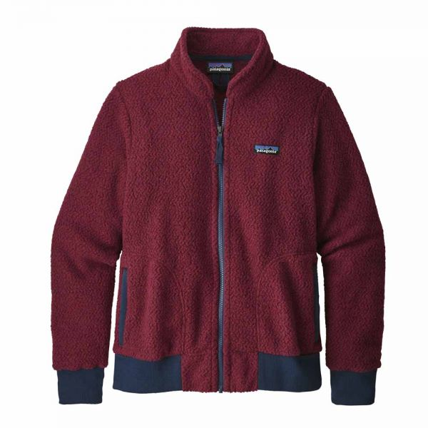 Patagonia W´s Woolyester Fleece Jacket Damen Fleecejacke oxide red