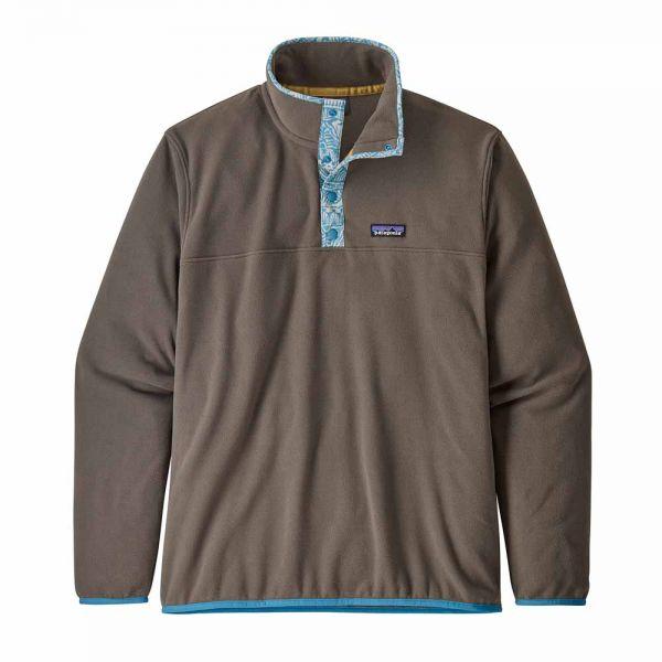 Patagonia M´s Micro D Snap-T Herren Fleecepulli burnie brown