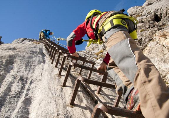 Klettersteig Chiemgau : Alpine info : schuster gangl klettersteig chiemgauer alpen