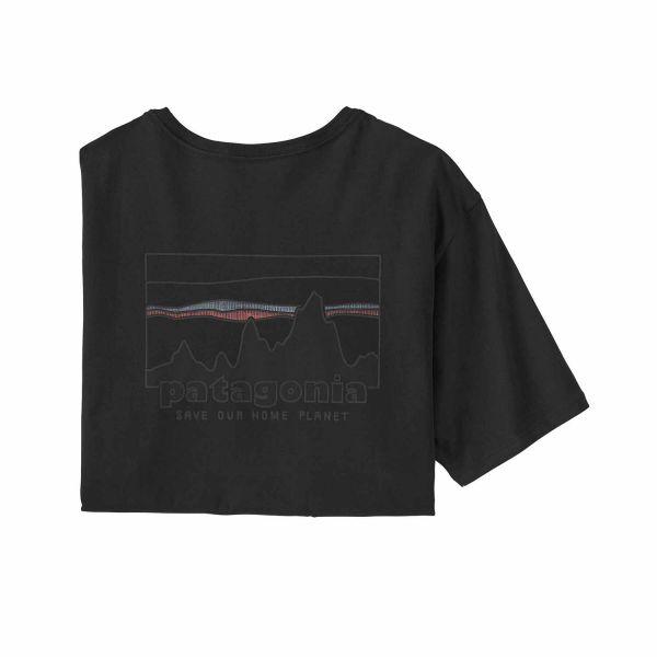 Patagonia Men's '73 Skyline Organic T-Shirt Black
