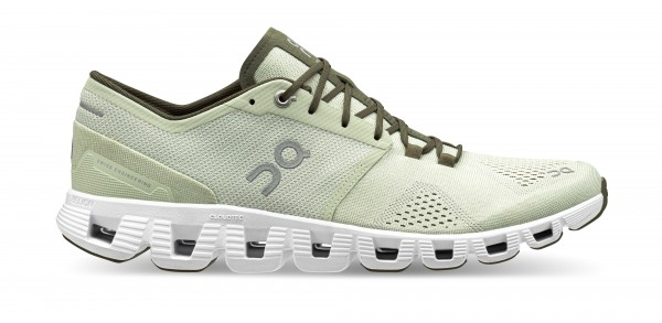 On Cloud X Herren | aloe / white - Laufschuhe und Cross-Training-Schuhe