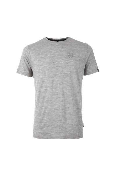 Pally'Hi T-Shirt Shears Icon Herren T-Shirt heather grey front