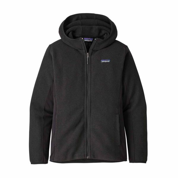 Patagonia W's LW Better Sweater Hoody Black