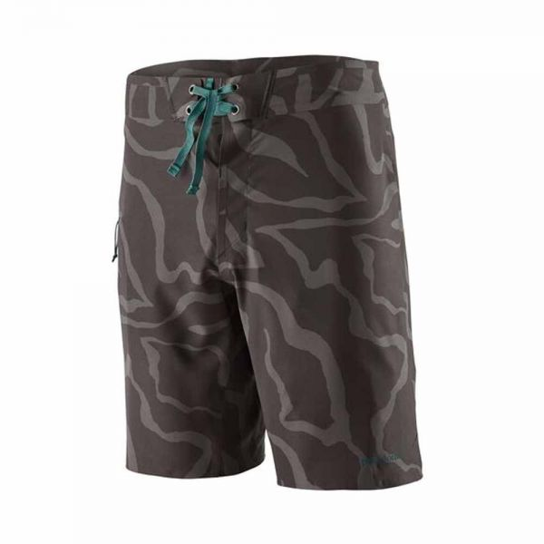 Patagonia M's Stretch Hydroflow Boardshorts - 19 in. Herren Surfhose Tiger Tracks Camo