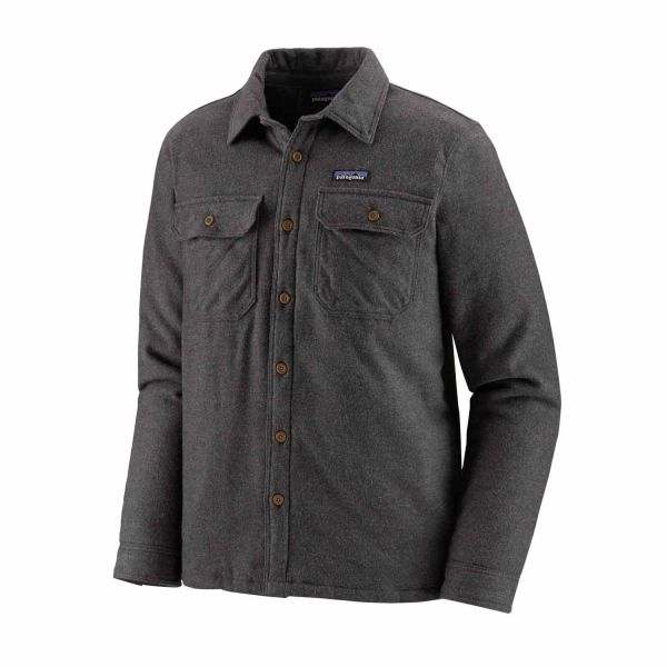 Patagonia M's Insulated Fjord Flannel Jacket Forge Grey