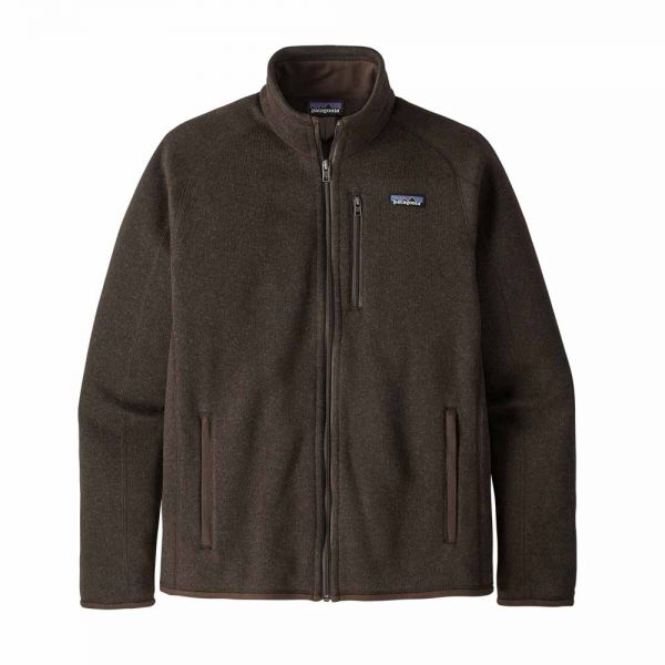 Patagonia Men´s Better Sweater Jacket Herren Jacke logwood brown