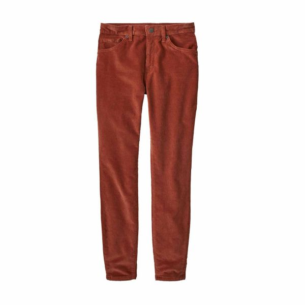 Patagonia Women's Organic Cotton Everyday Cords Burnished Red