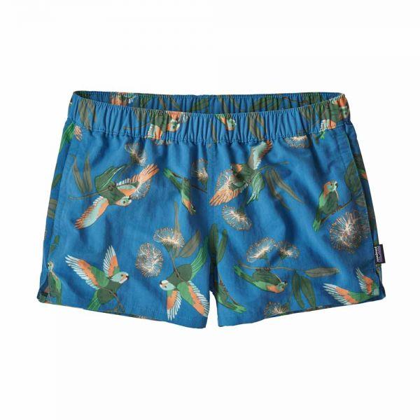 Patagonia W´s Barely Baggies Shorts Damen Shorts Parrots: Port Blue