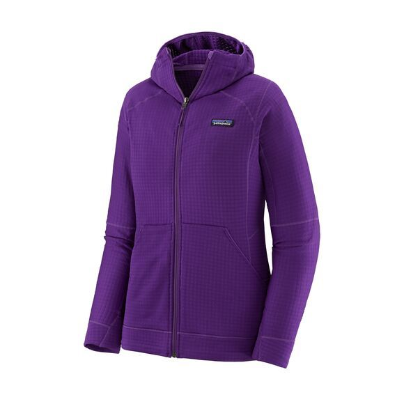 Patagonia W´s R1 Full-Zip Hoody Damen Kapuzenjacke Purple
