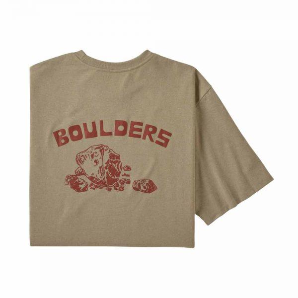 Patagonia M's Playlands Responsibili-Tee Herren T-Shirt Pumice Boulders