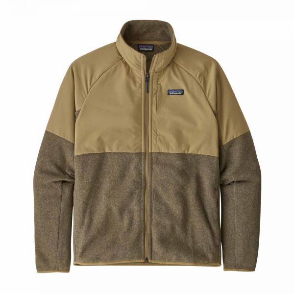 Patagonia M's LW Better Sweater Shelled Jacket classic tan