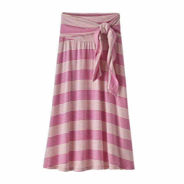 Patagonia W's Kamala Midi Skirt Roving: Marble Pink
