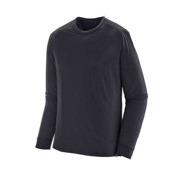 Patagonia Men's Long-Sleeved Capilene® Cool Merino Shirt Black