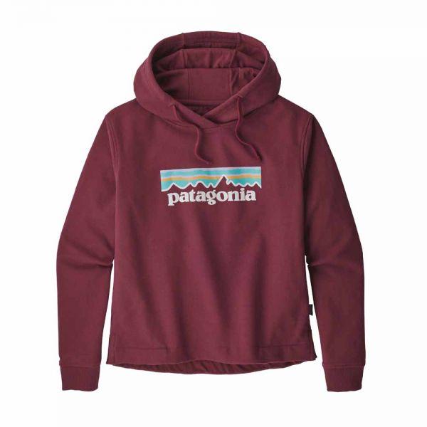Patagonia W´s Pastel P-6 Logo Uprisal Hoody Damen Kapuzenpullover rocky red