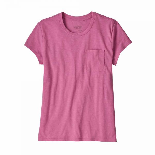 Patagonia W's Mainstay Tee marble pink