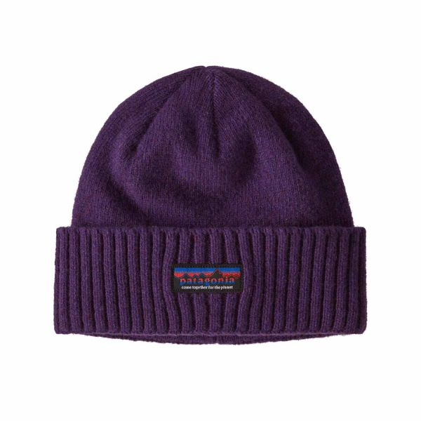 Patagonia Brodeo Beanie Togehter For The Planet Label: Purple