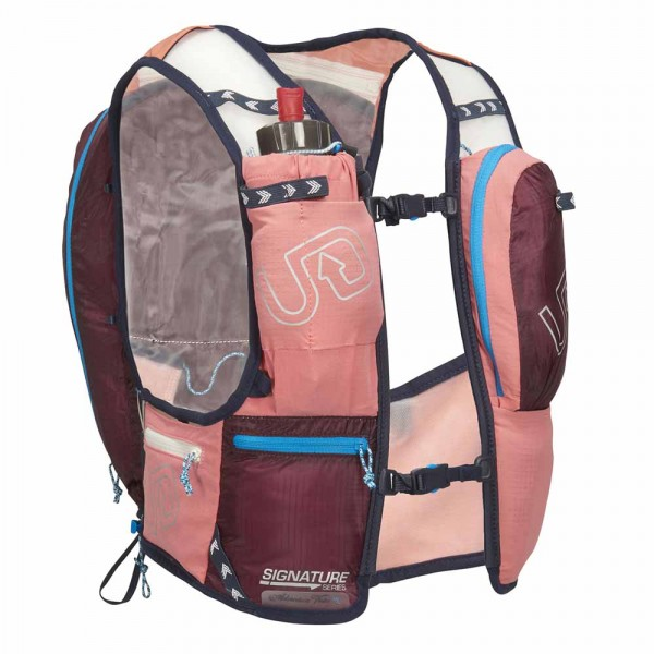 Ultimate Direction Adventure Vest 4.0 Coral Frontansicht