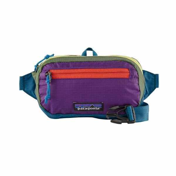 Patagonia Ultralight Black Hole Mini Hip Pack Tasche Patchwork: Steller Blue