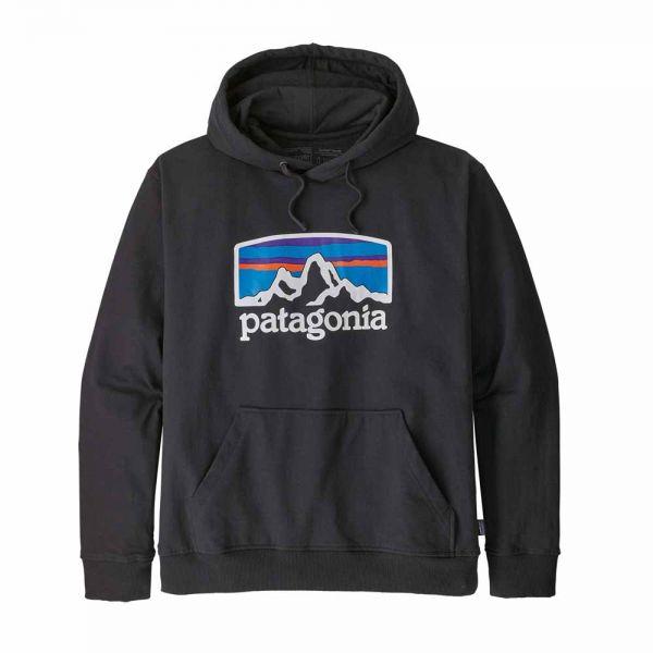 Patagonia Men´s Fitz Roy Horizons Uprisal Hoody Herren Sweatshirt black