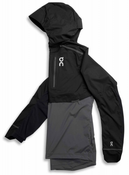 On Weather Jacket Black - Shadow Herren Jacke