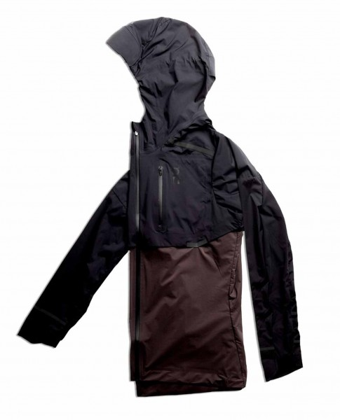 On Weather Jacket Black - Pepple Damen Jacke