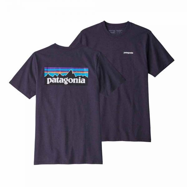 Patagonia M´s P-6 Logo Responsibili-Tee Männer T-Shirt Piton Purple