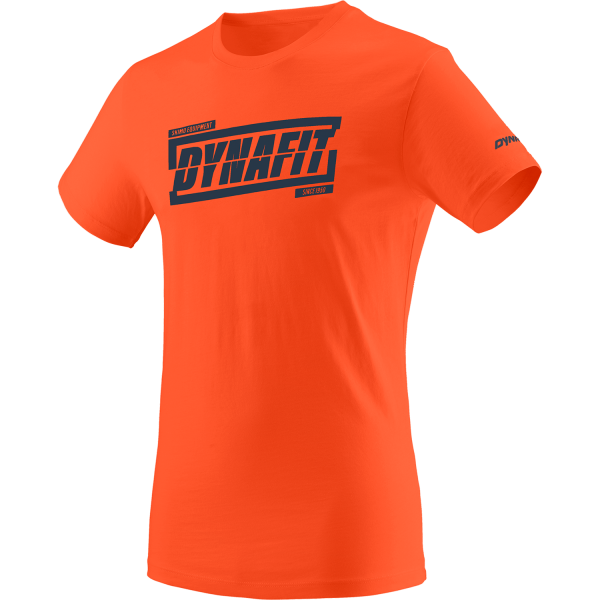 Dynafit Graphic Cotton Herren T-ShirtDawn/Tabloid
