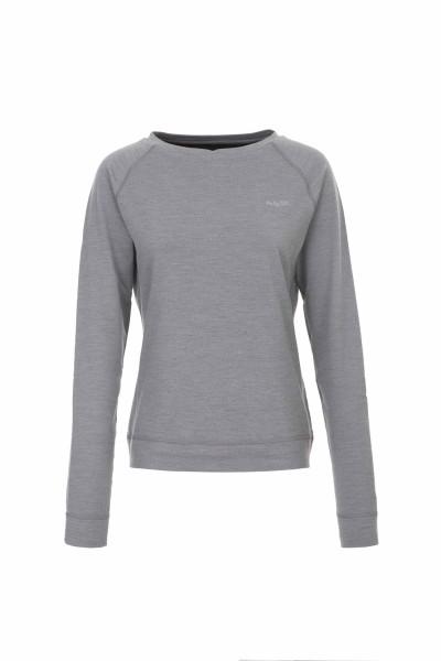Pally'Hi Minnie Vee Damen Crew Neck Sweater heather grey