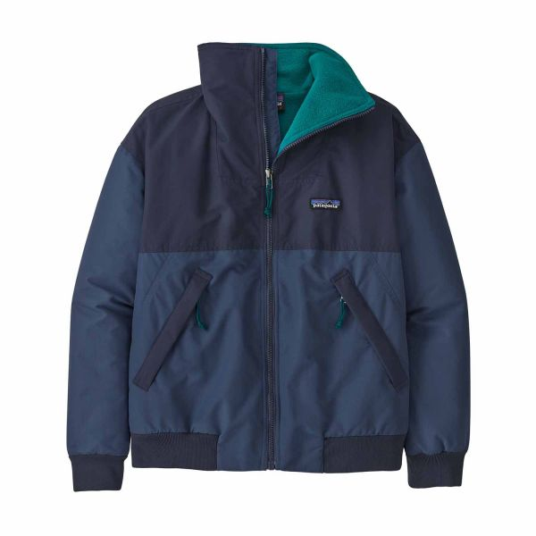 Patagonia Women's Shelled Synchilla® Jacket Stone blue