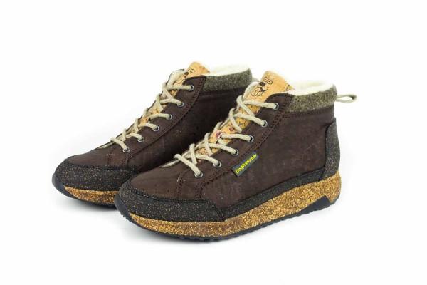 Doghammer Arctic Cork Adventurer Madl Sneaker - Damen Winter-Schuhe | flower