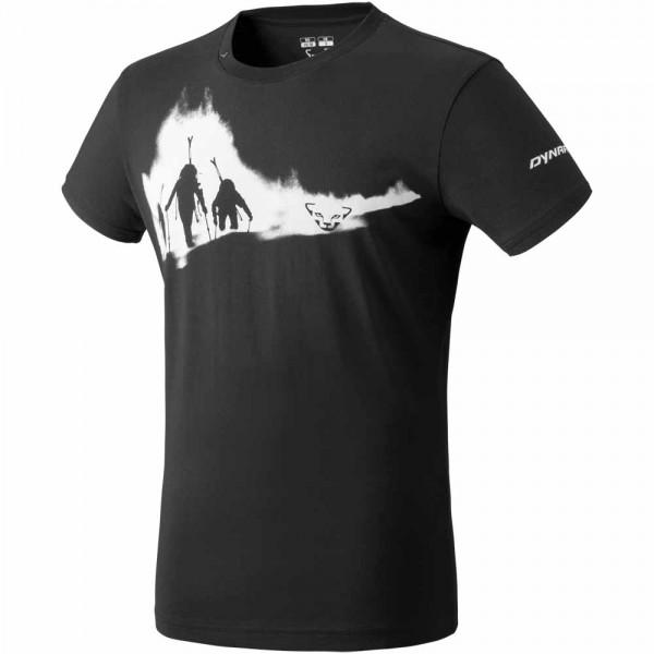 Dynafit Graphic Co Men S/S Tee Herren T-Shirt black out/ascent
