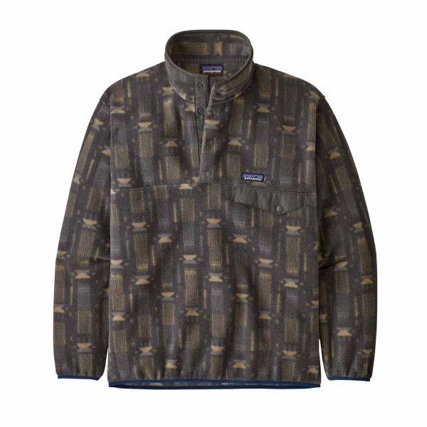 Patagonia M´s Synchilla Snap-T P/O Tallgrass: Forge Grey