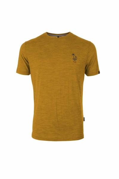 Pally'Hi T-Shirt Dizzy Palms Herren T-Shirt heather sundance