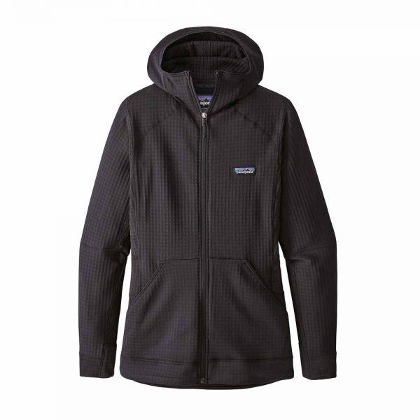 Patagonia W´s R1 Full-Zip Hoody Damen Kapuzenjacke black