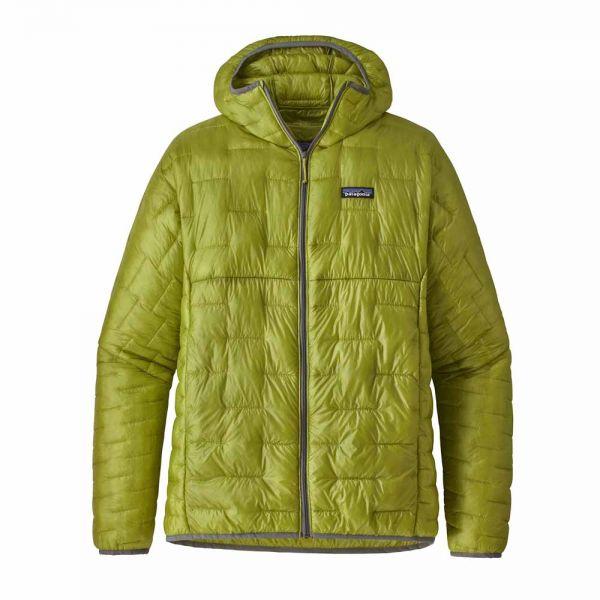 Patagonia M´s Micro Puff Hoody Herren Isolationsjacke folios green