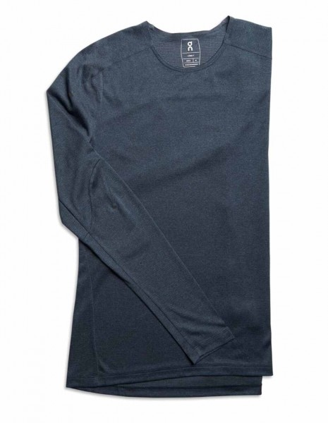 On Long-T Man navy Herren Longsleeves