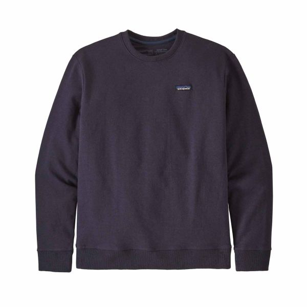 Patagonia M's P-6 Label Uprisal Crew Sweatshirt piton purple