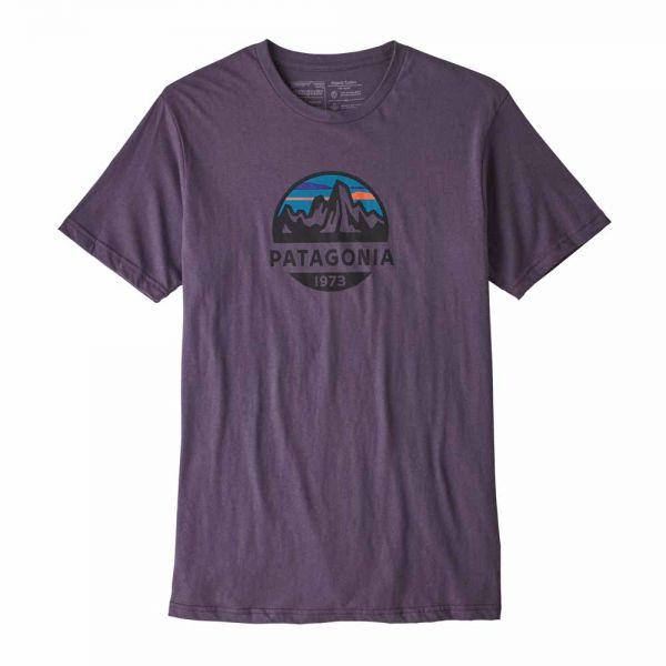 Patagonia M´s Fitz Roy Scope Organic T-Shirt Männer T-Shirt Piton Purple