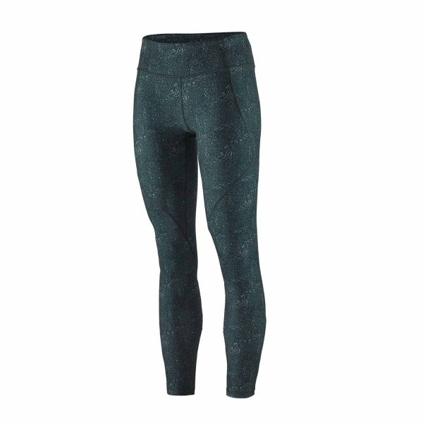 Patagonia W´s Centered Tights Cosmic Carving: Northern Green
