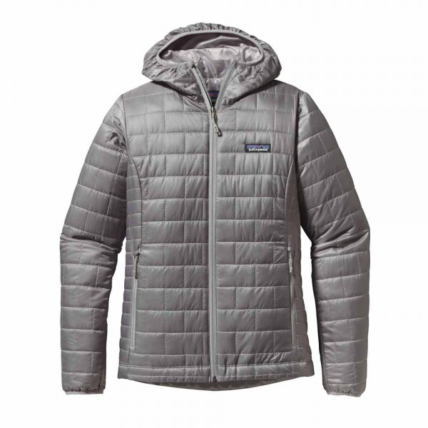 Patagonia W`s Nano Puff Hoody feather grey