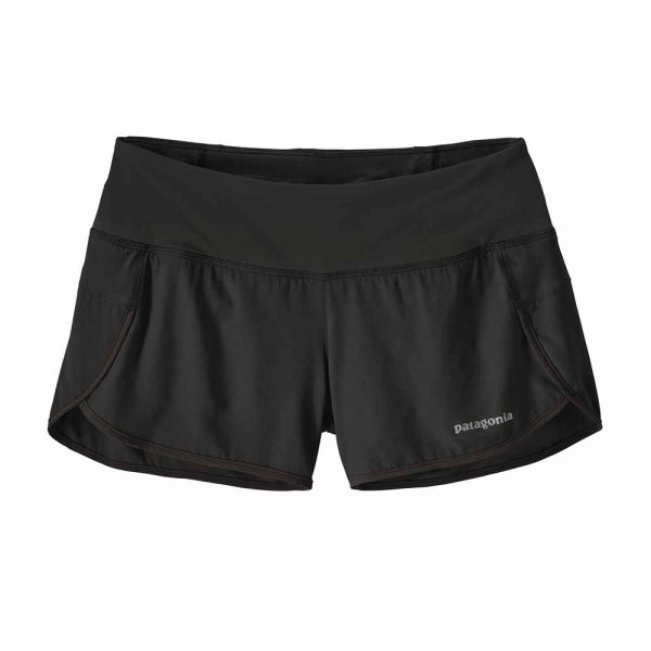 Patagonia W´s Strider Shorts - 3 1/2 in. Damen Laufshort black