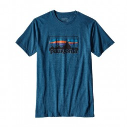 Patagonia M´s ´73 Logo Cotton/Poly T-Shirt
