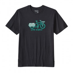 Patagonia M´s Live Simply Cargo Bike Cotton T-Shirt