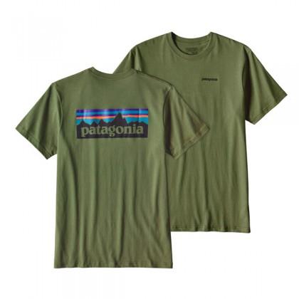 Patagonia M´s P-6 Logo Cotton T-Shirt