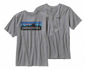 Patagonia P-6 Logo Cotton Herren T-Shirt