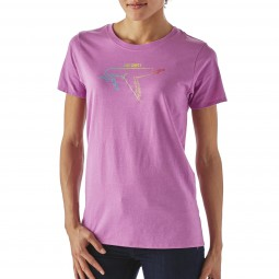 Patagonia Women Live Simply Dove Crew T-Shirt